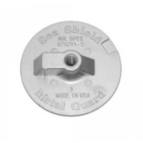 Mercury Flat Trim Tab Zinc 76214-5
