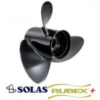 Solas Amita 3 Plus Rubex Propeller 40-140 HP Mercury