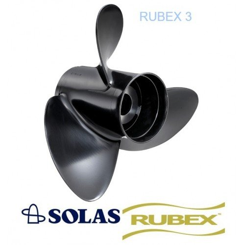 Solas Amita 3 Rubex Propeller 60-140 HP Tohatsu