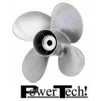 PowerTech Bravo 2 Propeller BRA 4 Blade Stainless