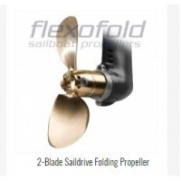 "Flexofold Sailboat Propeller 13"" X 2 Blade"