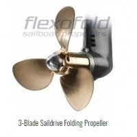 Flexofold Sailboat Propeller 3B-14""