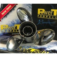 PowerTech PRO3 Stainless Propeller Yamaha 50-130 HP