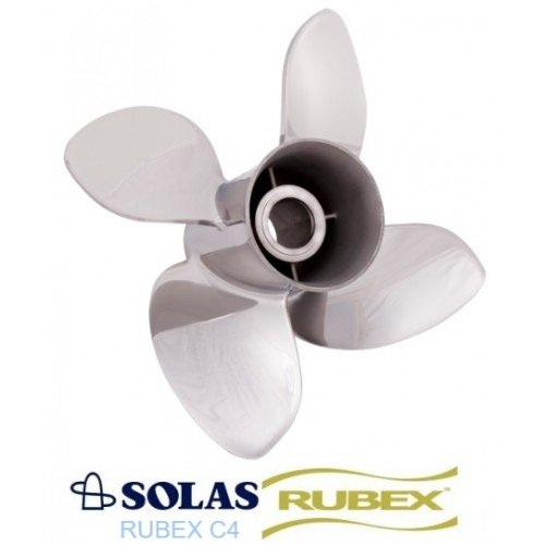 Solas C4 Rubex Propeller 35-60 HP Tohatsu