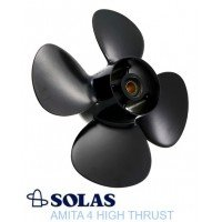 Solas High Thrust-4 Propeller EJ 8-15 HP