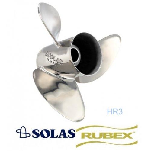 Solas HR3 Titan Rubex Propeller 90-300 HP Mercury