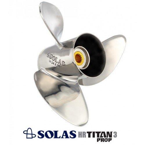 Solas HR3 Titan Propeller 90-300 HP Mercury