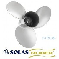 Solas Lexor 3 Plus Rubex Propeller 90-300 HP Mercury