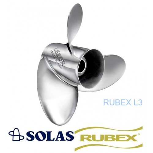 Solas Lexor 3 Rubex Propeller Yamaha 150-300 HP