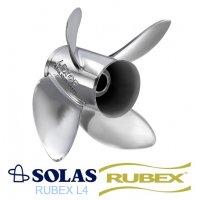 Solas Lexor 4 Rubex Propeller 115-250 HP Tohatsu