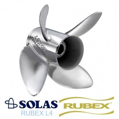 Solas Lexor 4 Rubex Propeller Yamaha 350 HP