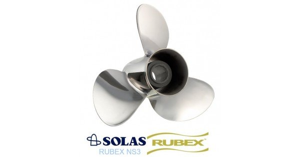 Solas New Saturn Rubex Propeller Yamaha 50-130 HP
