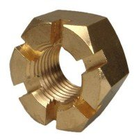 "Bronze Propeller Castle Nut 1.000""-1.125"""