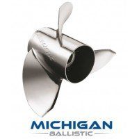 Michigan Ballistic Stainless Propeller EJ 15-35 HP