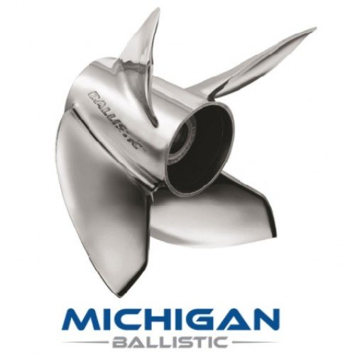 Michigan Ballistic 4 XL Propeller 90-300 HP Mercury
