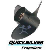 Quicksilver Black Diamond Propeller E/J 40-75 HP