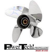 PowerTech OSN4 Stainless Propeller 40-140 HP Mercury