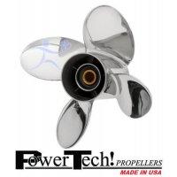 PowerTech PTR4 Propeller Yamaha 50-130 HP