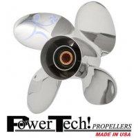 PowerTech RED4 Propeller Yamaha 50-130 HP
