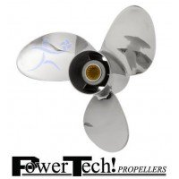 PowerTech SRG3 Stainless Propeller E/J 40-75 HP