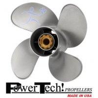 PowerTech SWW4 Propeller Yamaha 50-130 HP