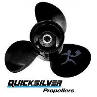 Quicksilver Black Diamond Propeller 8-20 HP Tohatsu