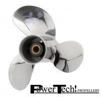 PowerTech SRT3 Stainless Propeller Suzuki 8-20 HP