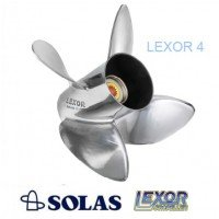 Solas Lexor 4 Propeller Suzuki 150-300 HP