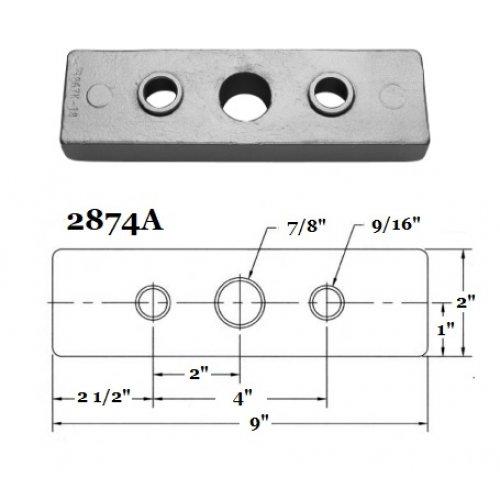 Fernstrum Heat Exchanger Anode 2874A