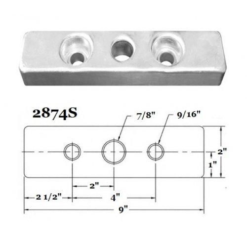 Fernstrum Heat Exchanger Anode 2874S