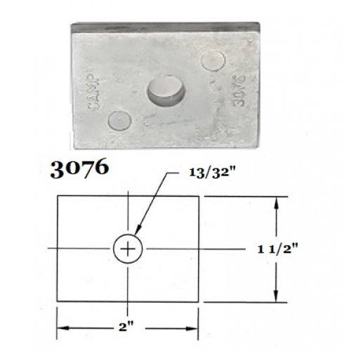 Fernstrum Heat Exchanger Anode 3076