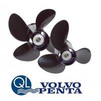 Volvo QL Aluminum 4-blade Propeller 60-140hp