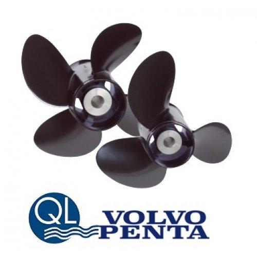 Volvo QL Aluminum 3-blade Propeller 90-300 hp