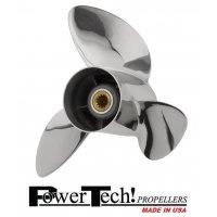 PowerTech OST3 Stainless Propeller E/J 40-140 HP