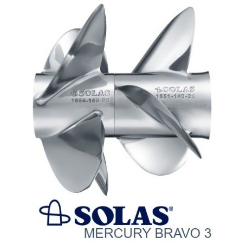 Solas Bravo 3 Propeller Set