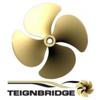 """Teignbridge Propellers Highly Skewed 22"""" LH 1.75"""" Bore"""