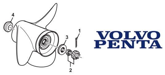 Volvo Penta SX Stainless Propeller 3860709