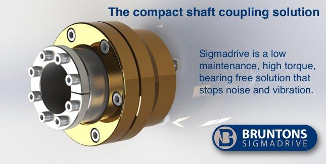 Bruntons SigmaDrive Shaft Coupling SD225