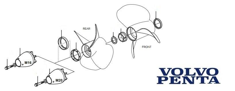 Volvo Penta Duo Prop Outdrive Diagram